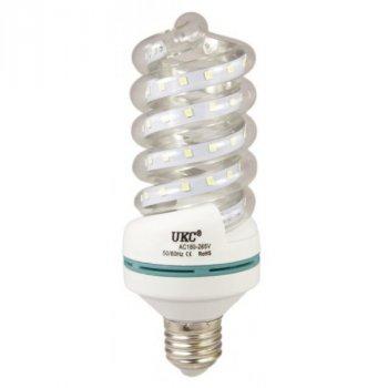 Лампочка LED LAMP E27 9W Спиральная 4024 UKC