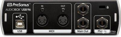 Аудіоінтерфейс PreSonus AudioBox USB 96 (225922)