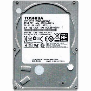 """Жорсткий диск 2,5"""" 500Gb Toshiba (MQ01ABD050V)"""
