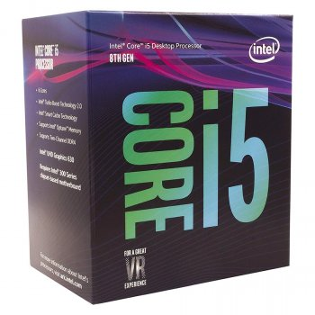 Процессор Intel Core i5-8600K 3.6GHz/9MB (BX80684I58600K) s1151 BOX