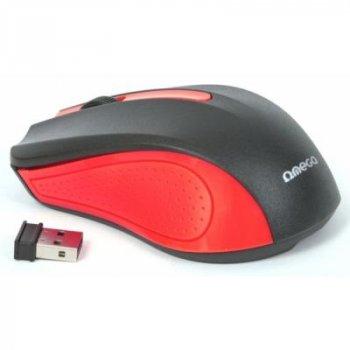 Мышка OMEGA Wireless OM-419 red (OM0419R)