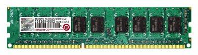 Transcend DIMM TS1GLK72V6H 8GB DDR3-1600 ECC (TS1GLK72V6H)