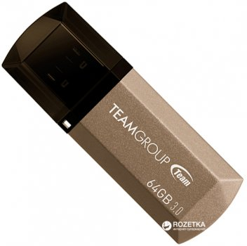 Team C 155 64GB USB3.0 Golden (TC155364GD01)