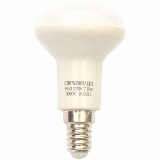 Лампа LED Светкомплект R50 7 Вт E14 тепле світло