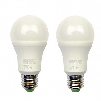 Лампа LED Светкомплект A60 E27 12 Вт 4500K холодний світ 2 шт
