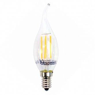 Лампа филаментная LED Светкомплект FLCA35 Е14 4 Вт 3000K