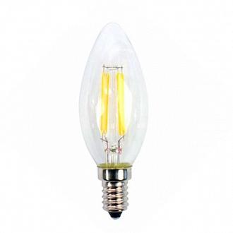 Лампа филаментная LED Светкомплект FLCA35 Е14 4 Вт 4500K