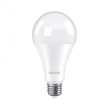 Світлодіодна лампа Maxus 1-LED-783 18W А80 3000K 220V E27 (59633)
