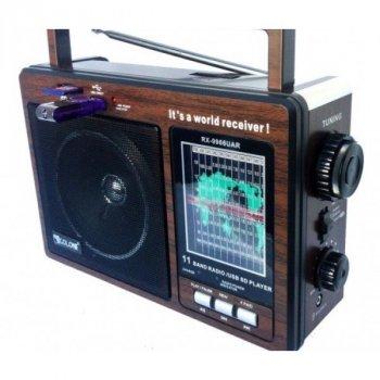 Портативна акустична система GOLON RX-9966, Радіоприймач, Радіо, Акумуляторний радіоприймач