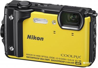 Фотоапарат Nikon Coolpix W300 Yellow (VQA072E1) Офіційна гарантія!