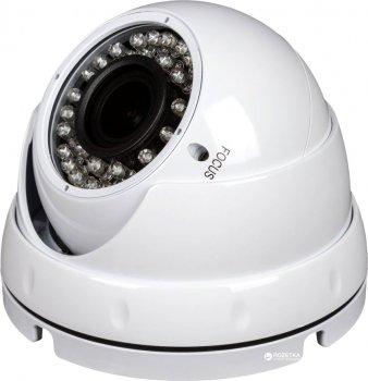 AHD купольная антивандальная видеокамера Green Vision GV-067-GHD-G-DOS20V-30 1080P (LP5001)