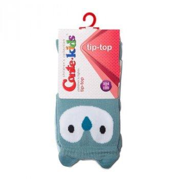 Колготки Conte Kids TIP-TOP Кошенята, 116-122 (18), Темно-сірий-малиновий (1001090110020728445)
