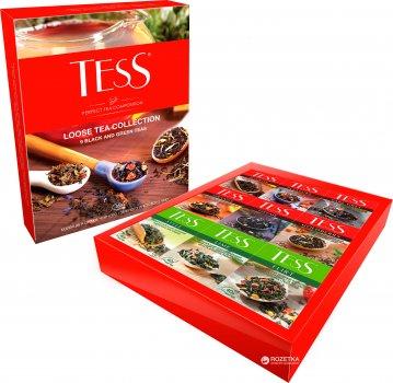 Набір чаю листового TESS Loose Tea Collection 9 видів 355 г (4823096800271)