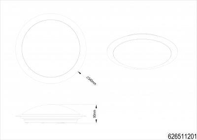 Стельовий світильник Trio Gonzalo (626511201)