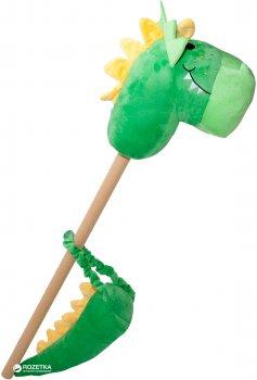 Игрушка Rock My Baby Дракон на палке с хвостом Зеленый (JR008(G))