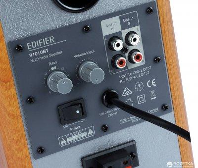 Акустична система Edifier R1010BT Brown