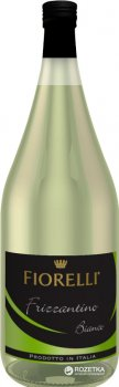 Игристый напиток Fiorelli Frizzantino Bianco белый сладкий 1.5 л 7.5% (8002915005295)