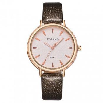 Женские классические часы Yolako, циферблат - белый, арт. (41439)