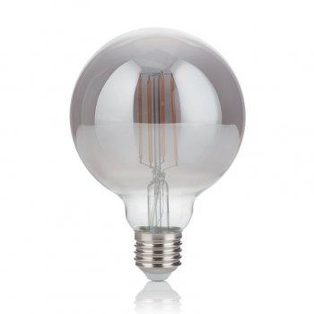 Світлодіодна лампа Ideal Lux Vintage E27 4W Globo Small Fume' 2200K (204475) 87567
