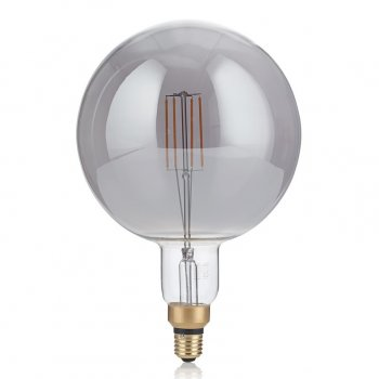 Світлодіодна лампа Ideal Lux Vintage Xl E27 4W Globo Big Fume' 2200K (204536) 87562
