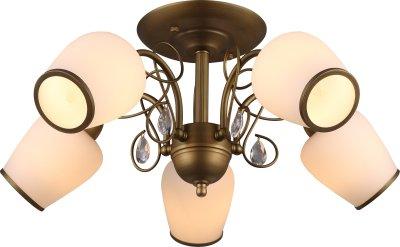 Стельовий світильник Altalusse INL-6108C-05 Golden Brass Е14 5х40Вт