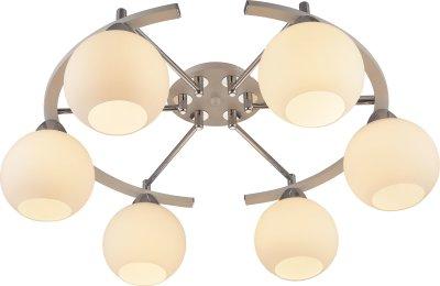 Стельовий світильник Altalusse INL-9323C-06 White & Chrome E27 6х40Вт