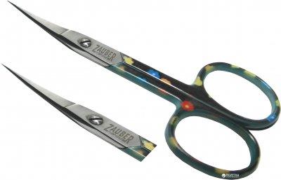 Ножницы маникюрные для ногтей Zauber-manicure цветные 01-172C1 (4004904671720)