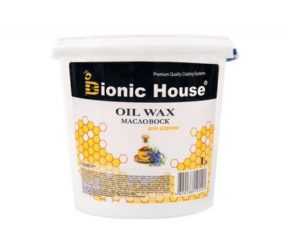 Масло-воск для дерева Bionic-House 1л Безцветный