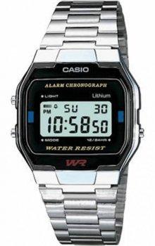 Чоловічі годинники Casio A163WA-1QGF