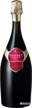 Шампанское Gosset Grand Reserve белое брют 0.75 л 12% (3353210012217)