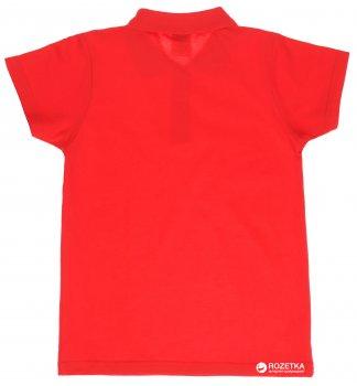 Поло European Standart 763-417-40 Красное