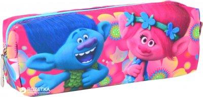 Пенал YES Trolls 1 отделение Разноцветный (531527) (5056137101764)