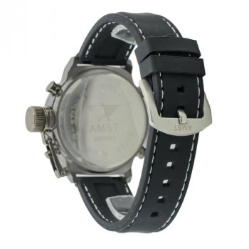 Мужские армейские часы водонепроницаемые AMST All Black original
