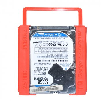 """Кронштейн-перехідник для установки 2.5"""" HDD/SSD диска у відсік 3.5"""" (STLab)"""