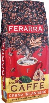 Кава в зернах Ferarra Caffe Crema Irlandese з клапаном 200 г (4820198871017)