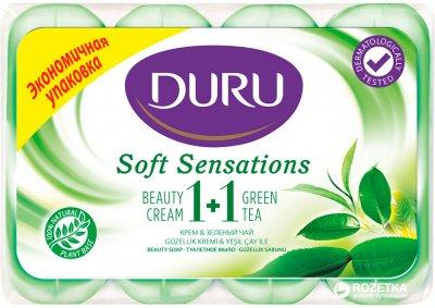 Мыло Duru Soft Sensations Зеленый чай 4 x 90 г (8690506025076)