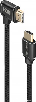 Кабель Promate proLink4K1 HDMI - HDMI v.2.0 1.5 м Black (proLink4K1-150.black)