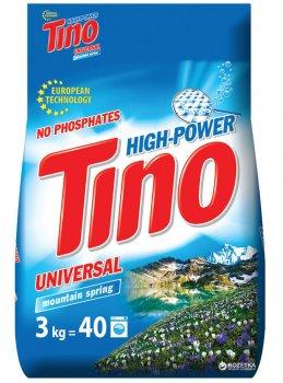 Пральний порошок універсальний Tino High-Power Mountain spring 3 кг (4823069705602)