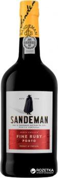 Портвейн Sandeman Ruby Porto Sogrape Vinhos червоний солодкий 0.75 л 19.5% (5601083001585)