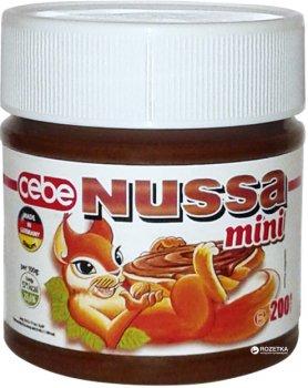 Шоколадный крем Nussa 200 г (4002309011226)