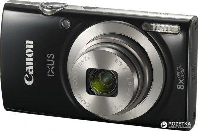 Фотоапарат Canon IXUS 185 Black (1803C008AA) Офіційна гарантія!