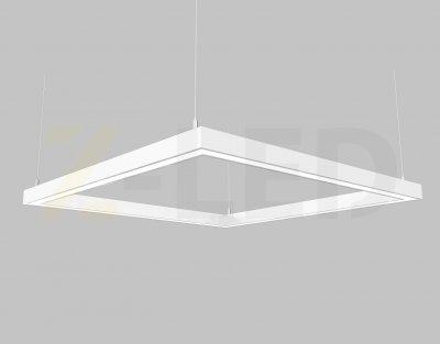 Світлодіодний світильник Z-LED 80ВТ квадрат білий (440x440) LSNK-80w