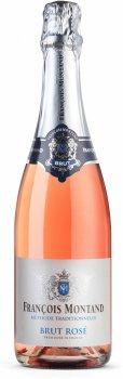 Вино ігристе Francois Montand Brut Rose рожеве брют 0.75 л 11.5% (3570599500320)