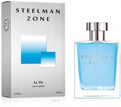 Туалетная вода для мужчин Dilis Parfum La Vie Steelman Zone 100 мл (4810212000493)