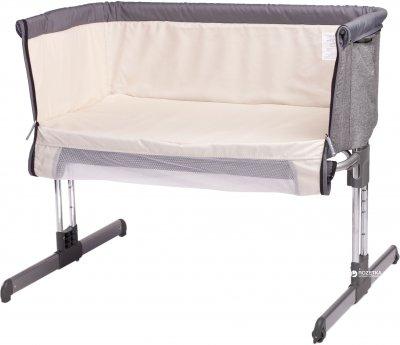 Детская кроватка Caretero Sleep2gether Graphite (Car.Sleep2gether(graphite))