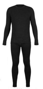 Термобелье W.W.O. Утепленное мужское Комплект Черный