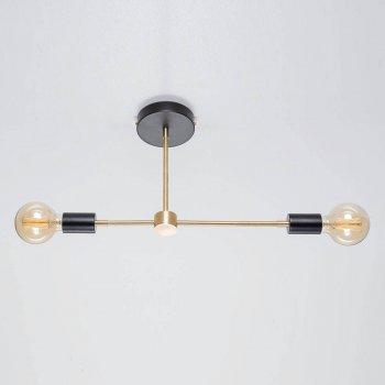 Стельовий світильник Viggo чорний