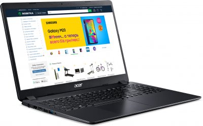 Ноутбук Acer Aspire 3 A315-56-30ML (NX.HS5EU.008) Shale Black