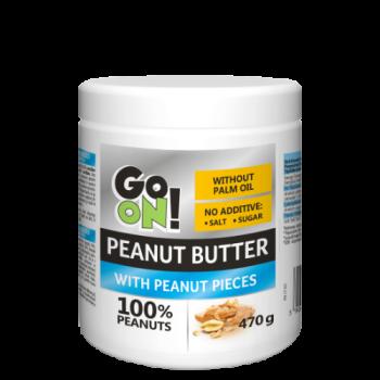 Арахисовая паста Go On Nutrition Peanut butter crunchy