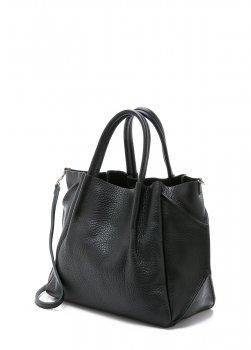 Кожаная сумка POOLPARTY Soho Remix black